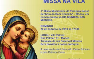 MISSA NA VILA – 2019